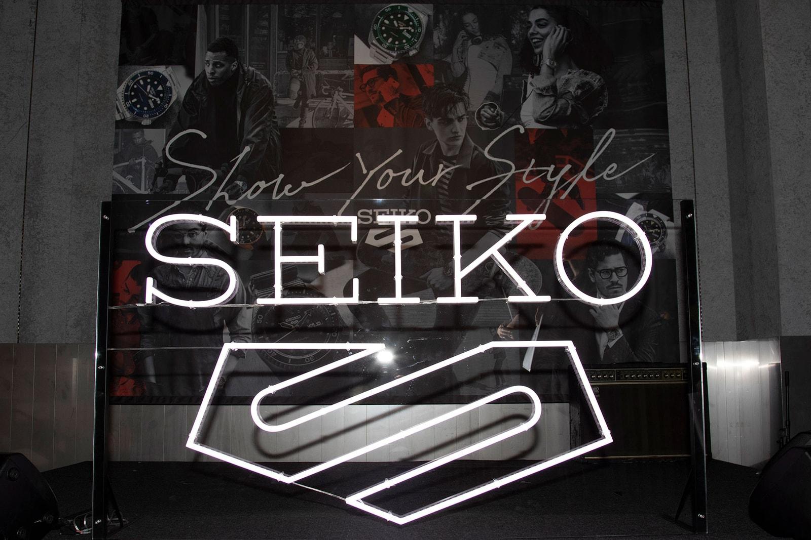 Seiko セイコー エヴィセンスケートボード 5 Sports ファイブスポーツ パーティ