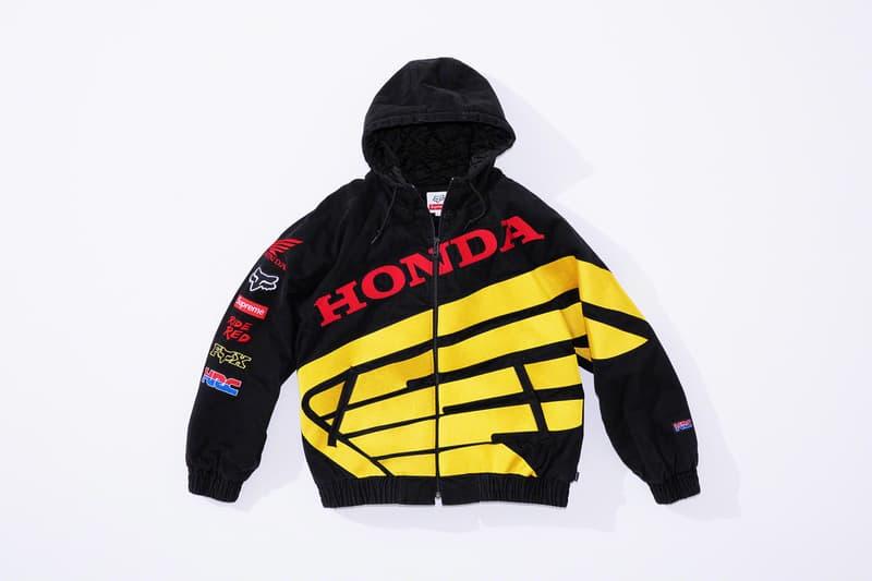 シュプリーム x ホンダ x フォックスレーシング Supreme x Honda x Fox Racing によるトリプルネームコレクションが登場