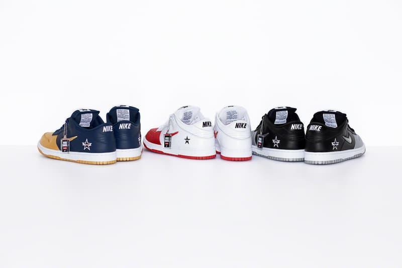 Supreme Nike SB シュプリーム ナイキ ダンク新作 コラボ Dunk Low 発売情報 解禁