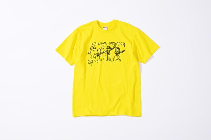 Supreme シュプリーム x ヴェルヴェットアンダーグラウンド The Velvet Underground によるコラボコレクションが登場