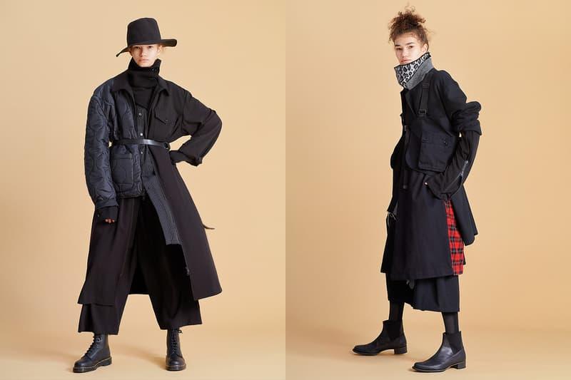 Yohji Yamamoto ヨウジヤマモト のEC限定ブランド S'YTE サイト の2019-20年秋冬コレクションが始動