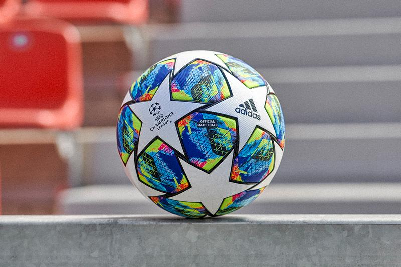 アディダス フットボール サッカー 2019 uefa champions league group stage official match ball adidas football colorful graphic print pattern white stars buy cop purchase pre order liverpool napoli chelsea valencia preview barcelona real madrid ajax inter milan