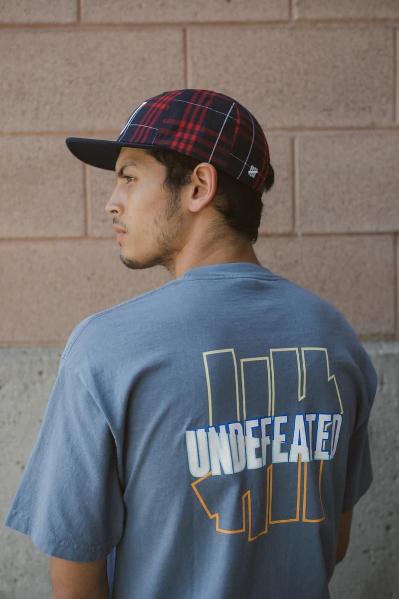 UNDEFEATED アンディフィーテッド オリジナル アパレル 2019年 秋冬 コレクション 第2弾目 登場 発売