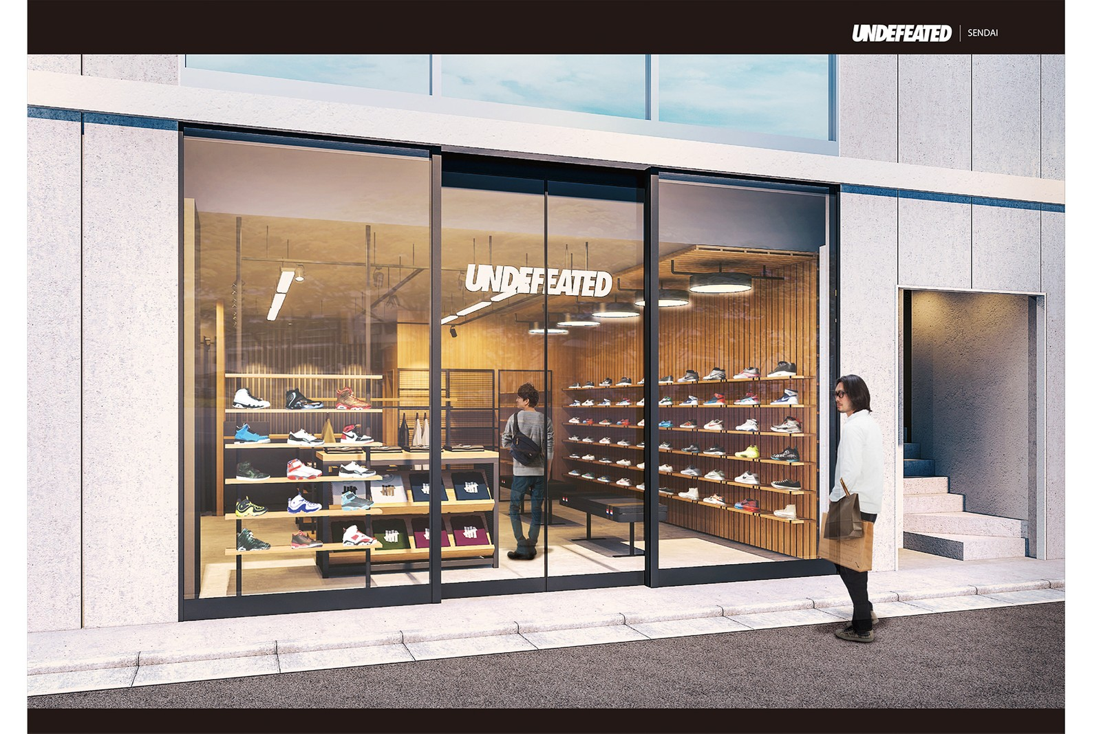 UNDEFEATED アンディフィーテッド sendai 宮城県 仙台 新店舗 オープン
