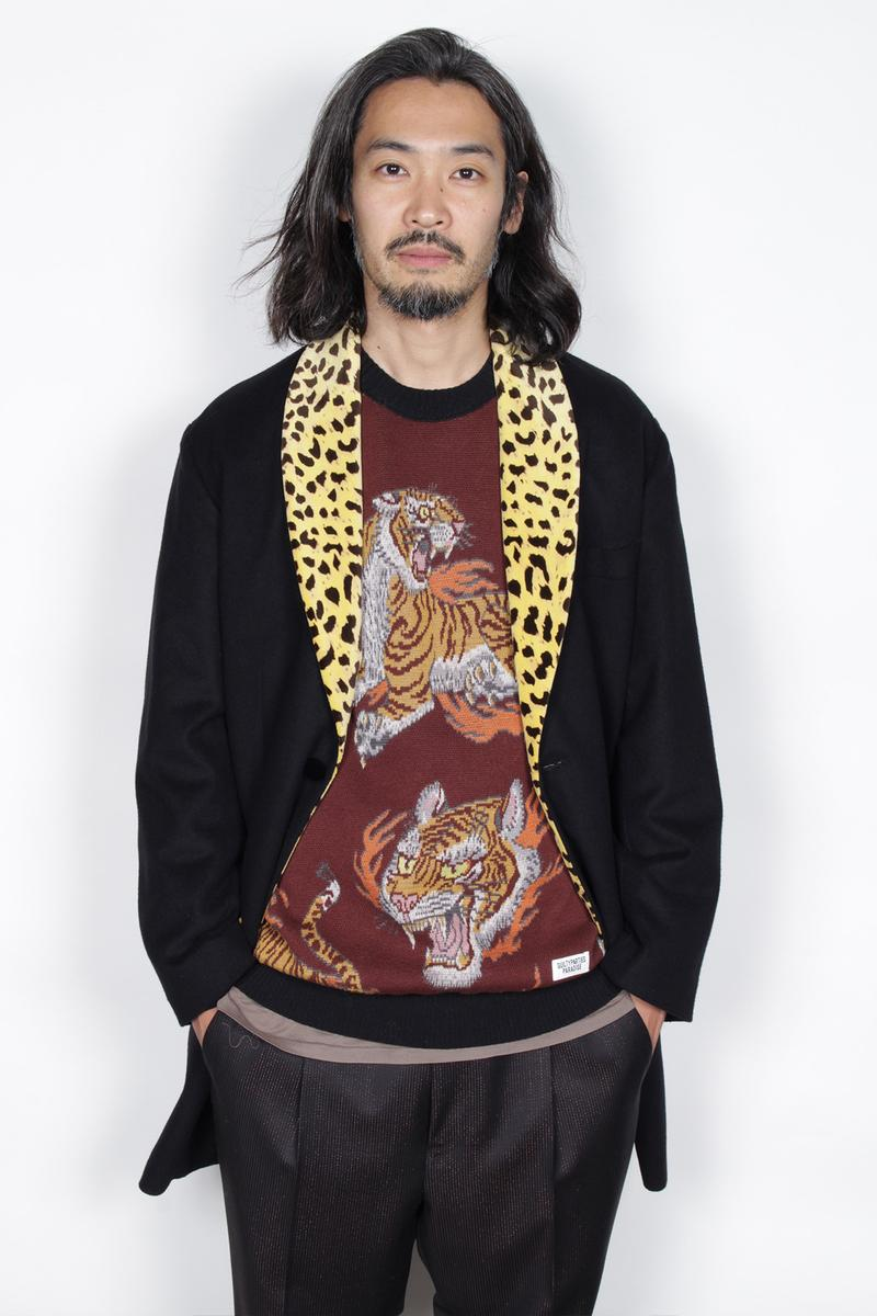 wacko maria dropped 2019 fall winter lookbook collection items leopard animal check ワコマリア 2019 秋冬 ルックブック アニマル柄 チェック 天国東京殺人音楽放送局 music arts film inspired themed collection