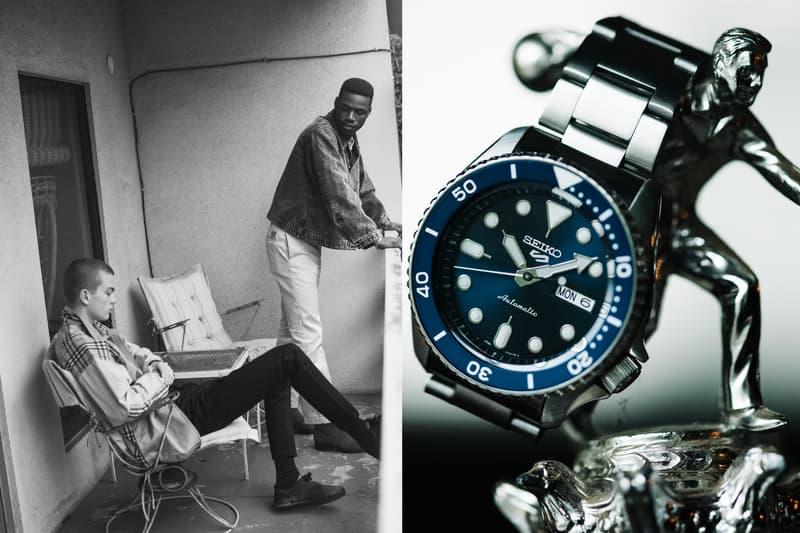 Seiko 5 Sports セイコー ファイブスポーツ エディトリアル 時計  カジュアルウオッチブランド