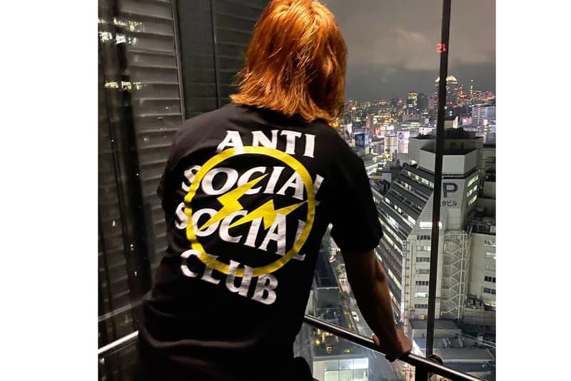 アンチ・ソーシャル・ソーシャル・クラブ 藤原ヒロシ フラグメント コラボ fragment design x Anti Social Social Club Collab Teaser ASSC collaborations neek lurk