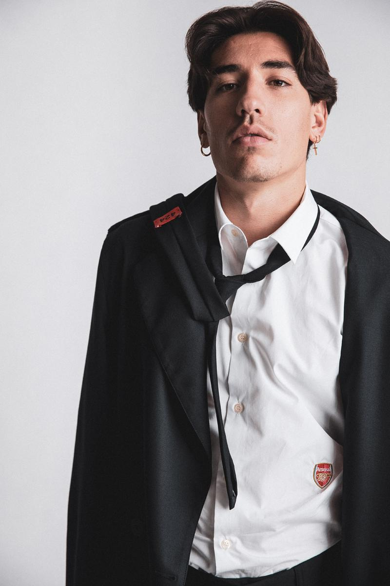 424がアーセナルFCとのパートナーシップを締結 Arsenal 424 Official Formal Wear Partnership Black Suits Ties Shirts White