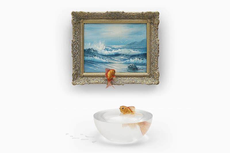 バンクシー banksy gross domestic product online store homewares artworks collectibles editions prints paintings stencils