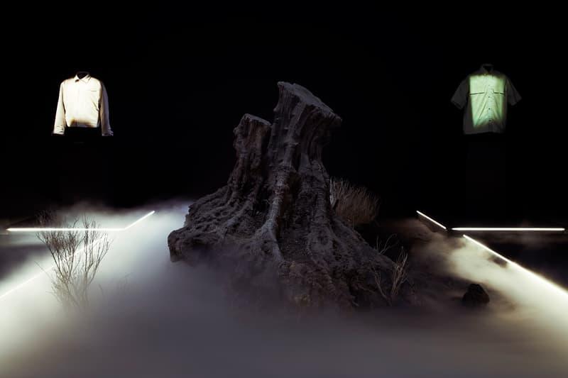 フィアオブゴッド fear of god ジェリーロレンゾ jerry lorenzo popup pop up shop los angeles essentials nike mainline product 427 S Hewitt St horse print denim jacket socks 101 suede sneakers jerry lorenzo
