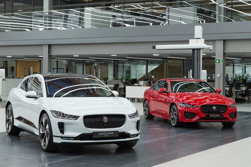 Look Inside ジャガー 英国 自動車 メーカー Jaguar New 39,000 Square Foot Design Studio  スタジオ Clay Modeling Sustainable Solar Panels Build Plates Automotive