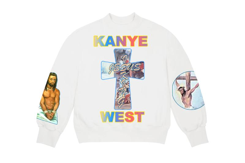 カニエウェストがAWGEデザインのJesus Is Kingのマーチを発表 AWGE For 'Jesus Is King' Merchandise Release Kanye West Sunday Service album merch Los Angeles pop-up pre-order yeezy garments drop date price info buy now