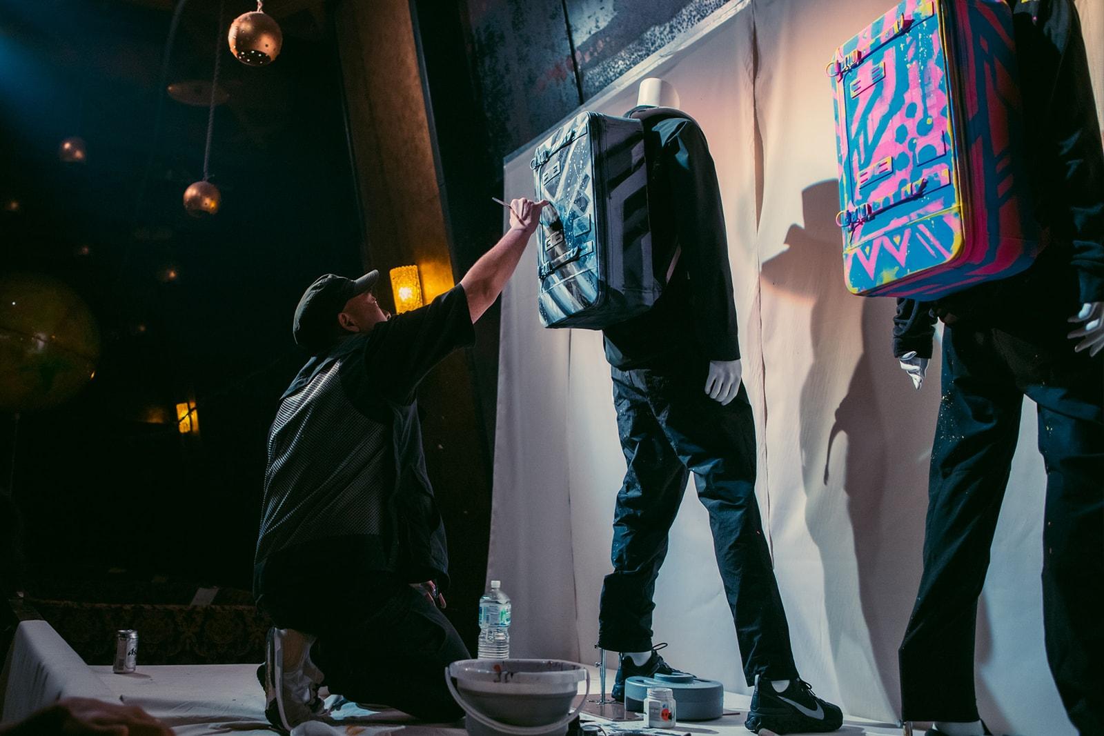 マスターピース master-piece 創業25周年 記念 アニバーサリー アイテム POTENTIAL BLACK LEOPARD 登場