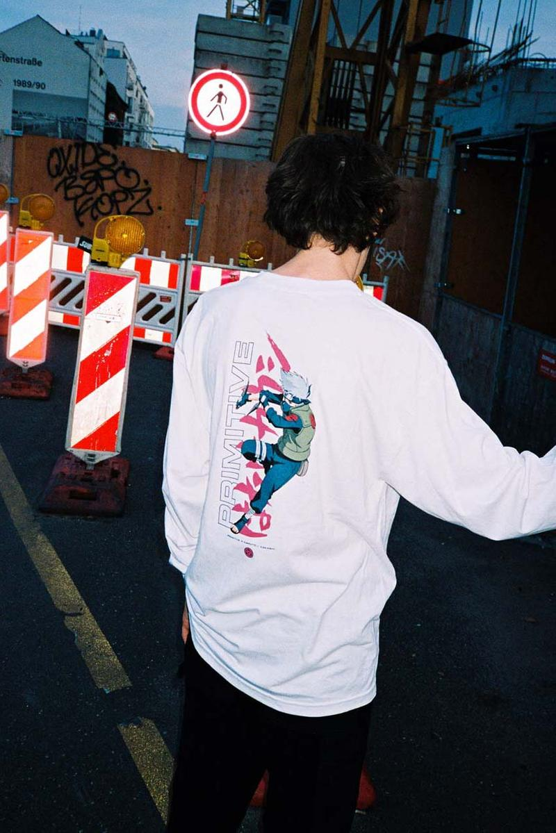 プリミティブ スケートボード ナルト 'Naruto' x Primitive Skateboards Collaboration collection capsule Lookbook release date info buy november 1 2019 skateboard clothing