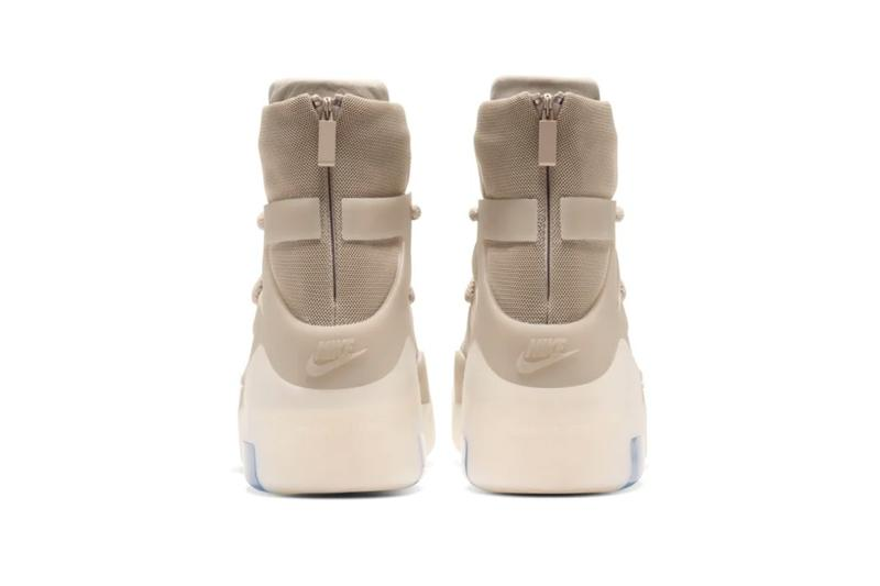 """ナイキ x ジェリー・ロレンゾからエアフィアオブゴッド1  Nike Air Fear of God 1 """"Oatmeal"""" official look release information Jerry Lorenzo Leo Chang basketball fashion military collaborations"""
