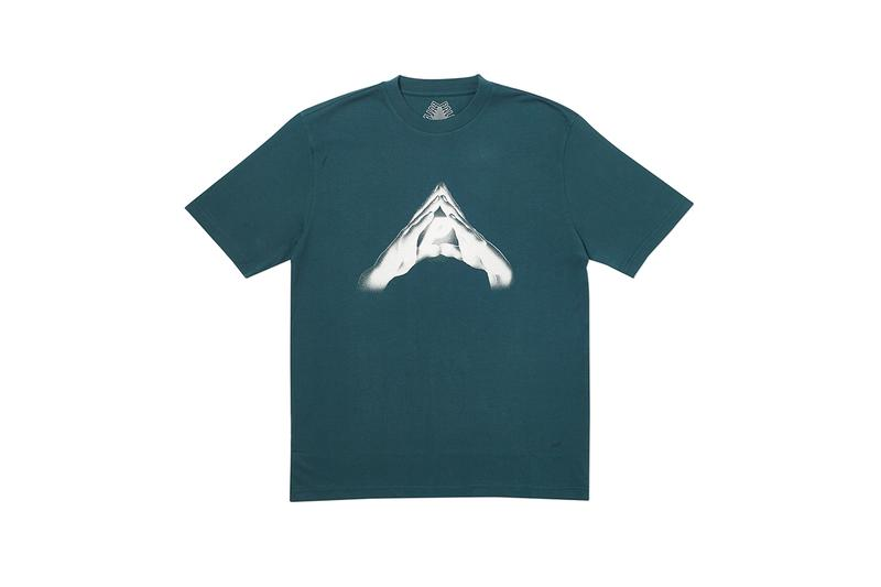 Palace Winter 2019 Tees First Look London Streetwear Skatewear Skating T-Shirts Stripes American Football Jersey Faded Dip Dye Esty DPM Camouflage Graphic Heavy pieces