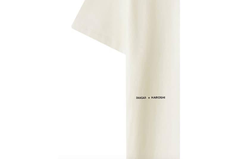 パンゲア ハロシ 日本初上陸ブランド Pangaia が HAROSHI とのコラボレーションTシャツを発表