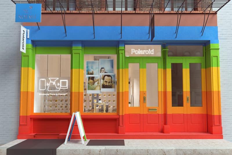 ポラロイドがニューヨークでポップアップイベントを開催 Polaroid Pop-Up Celebrates Analog Photography NYC Originals Polaroid SX-70 camera digital Instant Installation
