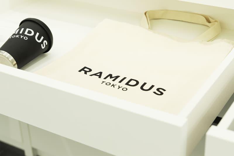 ラミダス 噂の新バックブランド RAMIDUS が原宿に誕生するストア内部とプロダクト情報を解禁