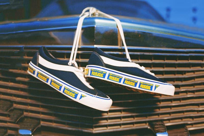 ルード × ヴァンズよりコラボスニーカー計3型がリリース rhude rude vans bold ni rhuigi villasenor licence plate white red yellow black