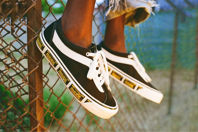 ルード × ヴァンズよりコラボスニーカー計3型がリリース rhude rude vans bold ni rhuigi villasenor licence plate white red yellow black