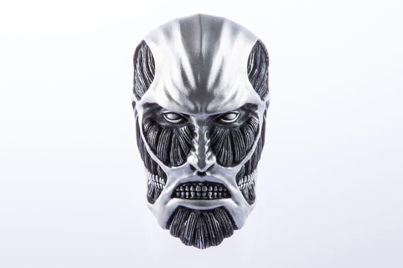 進撃の巨人 超大型巨人 シルバーリング Shoya Taniguchi Attack on Titan Colossal Titan Ring Release info Date Buy Silver 925