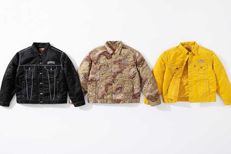 シュプリームとリーバイス Supreme と Levi's® がナイロン素材を用いた異色の最新コラボコレクションを発表