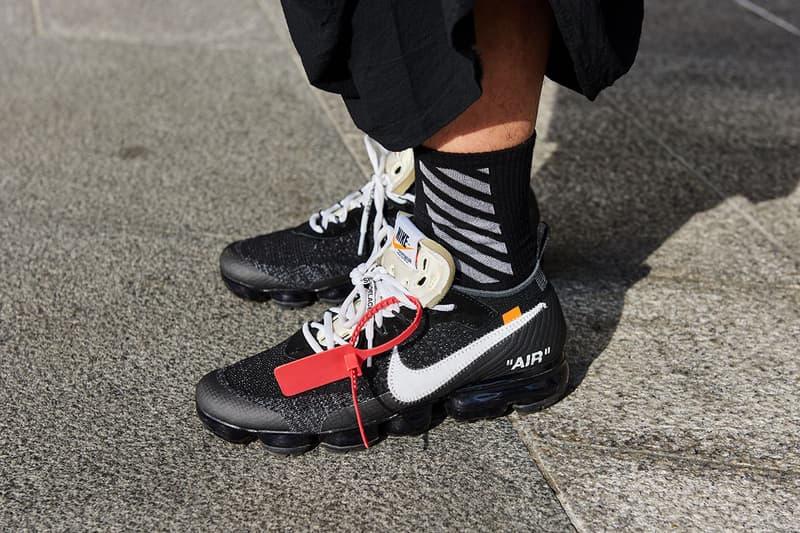 オフホワイトがグッチとバレンシアがを抑えて再び人気ブランド第1位に浮上 The Lyst Index Q3 2019 Hottest Brands Products Off-White Balenciaga Gucci Versace Prada Valentino Fendi Burberry Saint Laurent Vetements Sneakers Menswear
