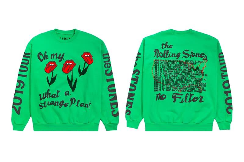 ローリングストーンズ カクタス プラント フリー マーケット The Rolling Stones Cactus Plant Flea Market No Filter US Tour Capsule Crewneck T shirt