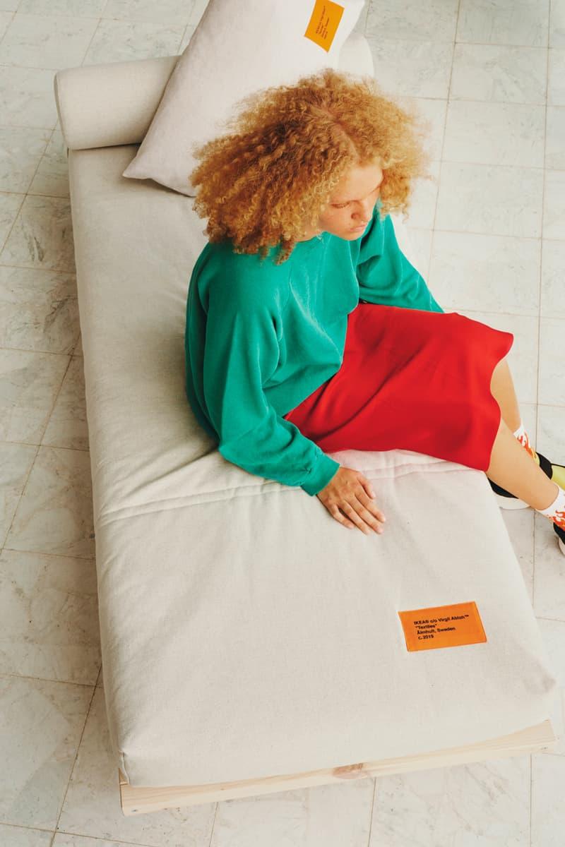 ヴァージルアブロー x イケアのコラボコレクションが11月リリースへ virgil abloh ikea markerad furniture collection release date homewares interiors interior design rugs carpets contemporary art street culture inspiration product design