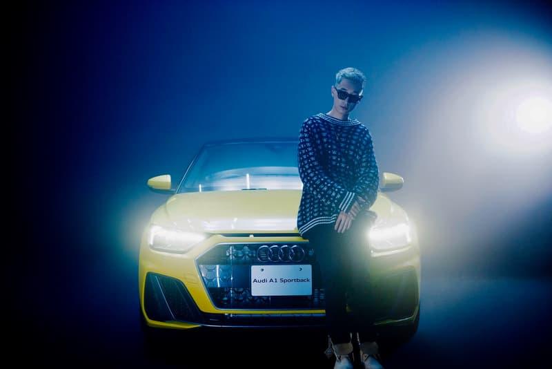 キャンディタウンのケイジュ アウディ KANDYTOWN の KEIJUが盛り上げる新型 Audi A1 Sportback の登場