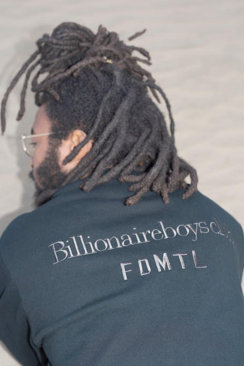 ビリオネア・ボーイズ・クラブ Pharrell Williams(ファレル・ウィリアムス) 和洋折衷のオリジナル柄を用いた Billionaire Boys Club x FDMTL のコラボコレクションが発売