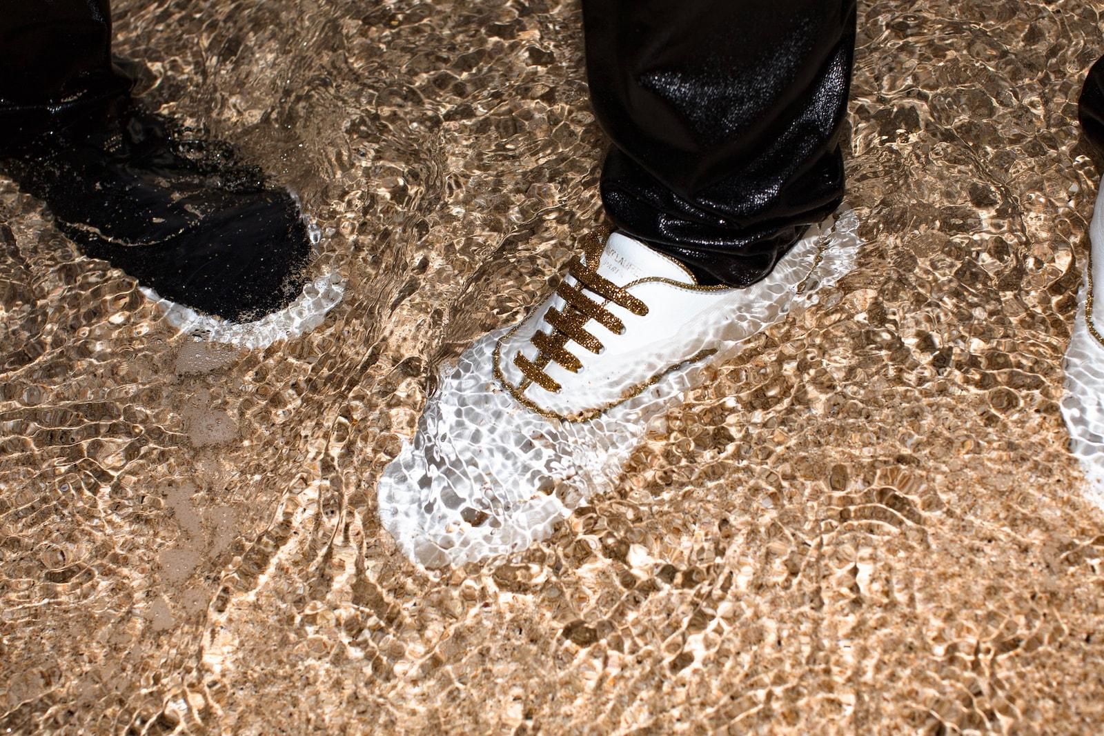 写真家 Evan Mock が捉えた Saint Laurent の大胆なスピリット Saint Laurent Team Up With Evan Mock for an Idyllic Venice Sneakers Lookbook Fashion Luxury Streetwear Hawaii Counter Culture