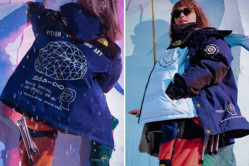 Brain Dead ブレインデッド The North Face ノースフェイス Fall Winter 2019 秋冬 カプセル Capsule コラボレーション Release info date full Look long short sleeve T shirt Hoodie Denali Nuptse Mountain Jacket