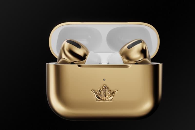 18金でコーティングされた約730万円の AirPods Pro が登場 Caviar Apple 18-Karat AirPods Pro $67,000 USD