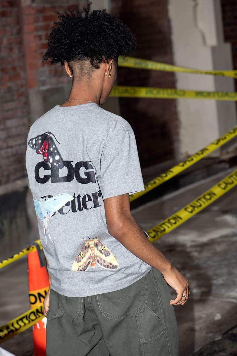 CDG ベター がアイコニックなグラフィックを用いた Better™ とのコラボプロダクトを発売