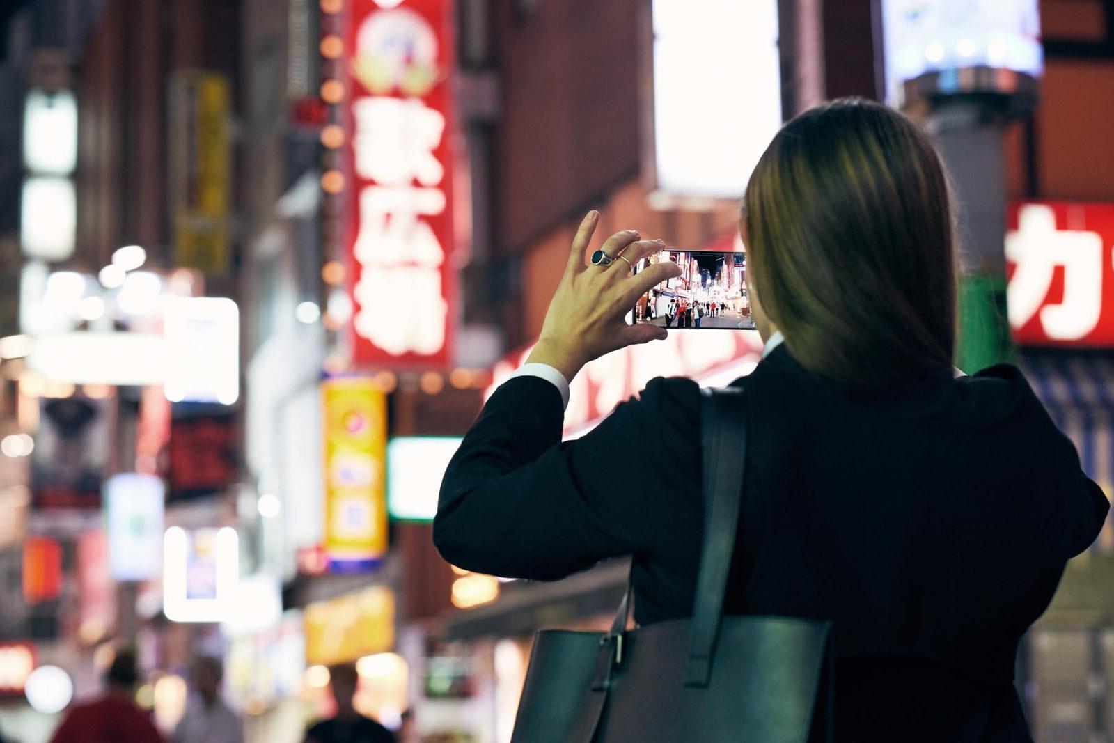 ココ・キャピタン、ギャラクシーノート10+と東京の街を歩く COCO CAPITÁN, GALAXY,  GALAXY NOTE 10+
