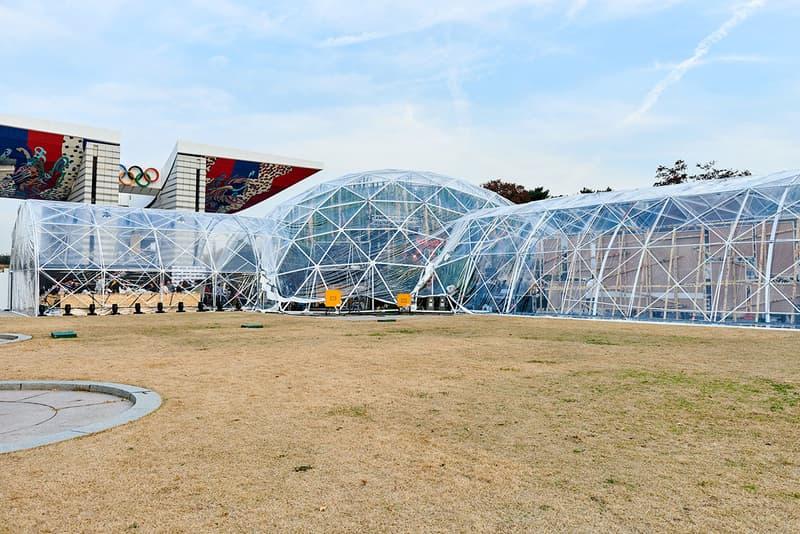G Dragon Nike Air force 1 Gドラゴン ナイキ エアフォース 1 リリース 記念イベント ローンチ daisy peaceminusone seoul korea olympic park オリンピック公園
