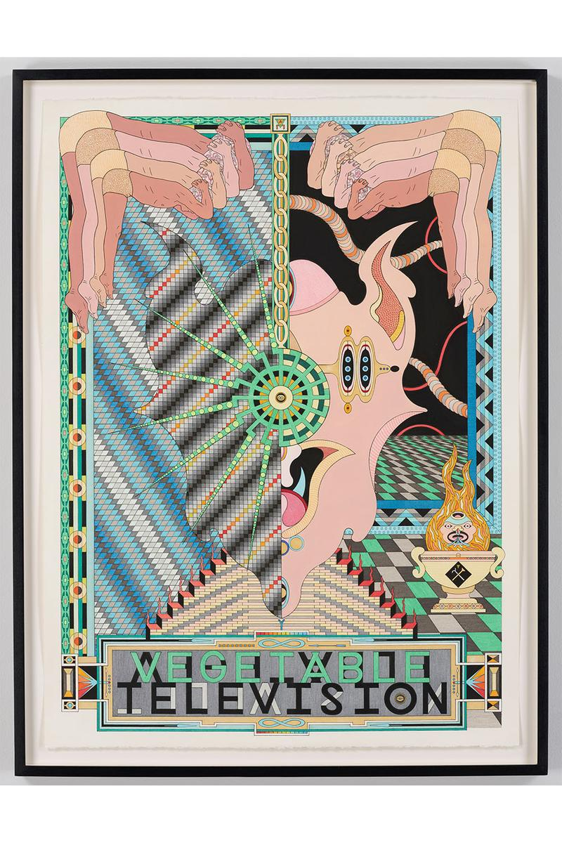 南塚 高密度な作品で幻想的な世界へと誘うジェス・ジョンソンが NANZUKA で日本初の個展を開催