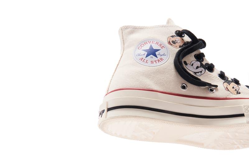 キス × ディズニー × コンバースよりコラボスニーカー3型がリリース kith converse disney mickey mouse chuck 70 hi high release date info photos price
