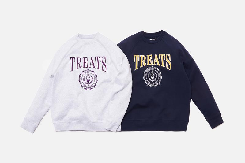 "キストリーツが最新コレクションTreats Collegiateを発売 KITH Treats ""Treats Collegiate"" Collection Release Heavyweight Cotton Crewneck Fleece Sweatshirts White Navy Heather Gray Green Orange Yellow Purple Cereal Box ""Cards Against Vanity"" Card Game"