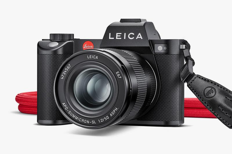ライカから最新ミラーレスカメラ SL2がリリース Leica Full-Frame SL2 Mirrorless Camera Info German Film M-mount Leitz full-frame CMOS Panasonic Lumix S1R,