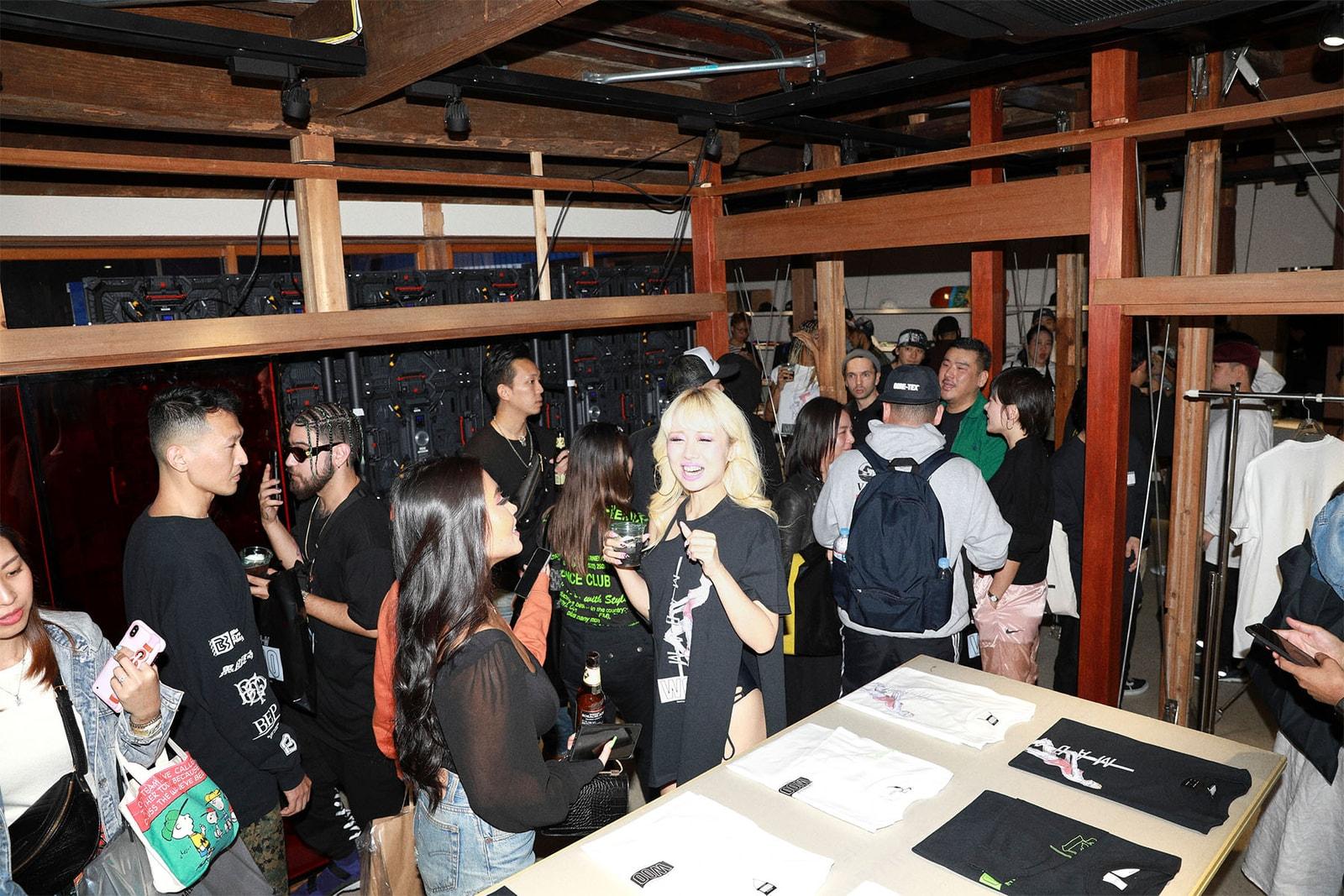 MADAM WOO TOKYO ドミサイル東京にてMADAM WOO TOKYO1周年のポップアップが開催 DOMICILE TOKYO 空山基によるセクシーロボットダンサー