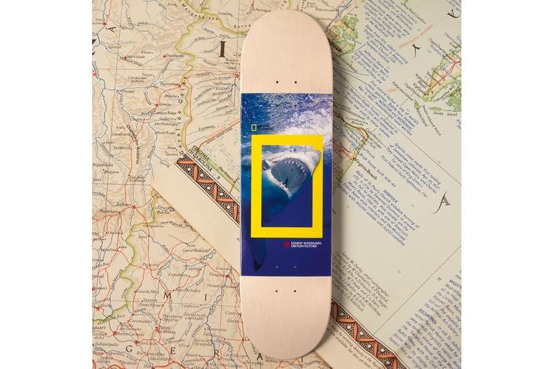 "National Geographic と Element Skateboards ""ナショジオ""こと『National Geographic(ナショナル ジオグラフィック)エレメント"