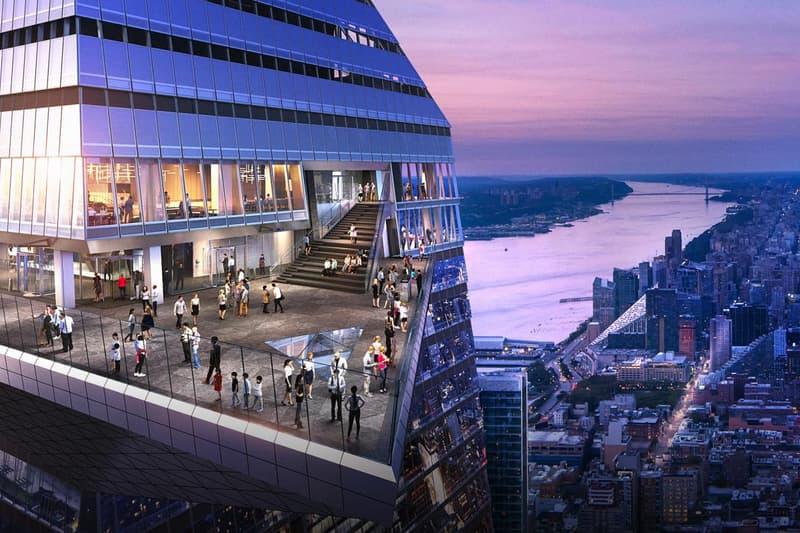 new york city ニューヨーク edge エッジ sky deck ハドソンヤード hudson yards attraction tourism travel Release Info