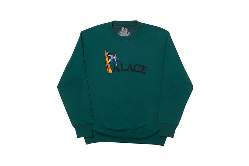 パレス Ultimo 2019 発売アイテム一覧 - フーディ&スウェット palace ultimo 2019 tops sweatshirts hoodies repeated P logo triferg sofar minimal buy cop purchase knitwear release information london lookbook