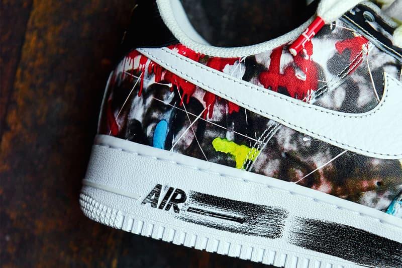 """Gドラゴン x ナイキ エアフォース1 """"Para-noise""""の真の姿に迫る G-DRAGON x Nike Air Force 1 """"Para-noise"""" の真の姿に迫る"""