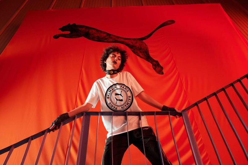PUMA x Balmain Campaign With Cara Delevingne  プーマ バルマン 最新コラボレーション キャンペーン 2019 カーラデルヴィーニュ