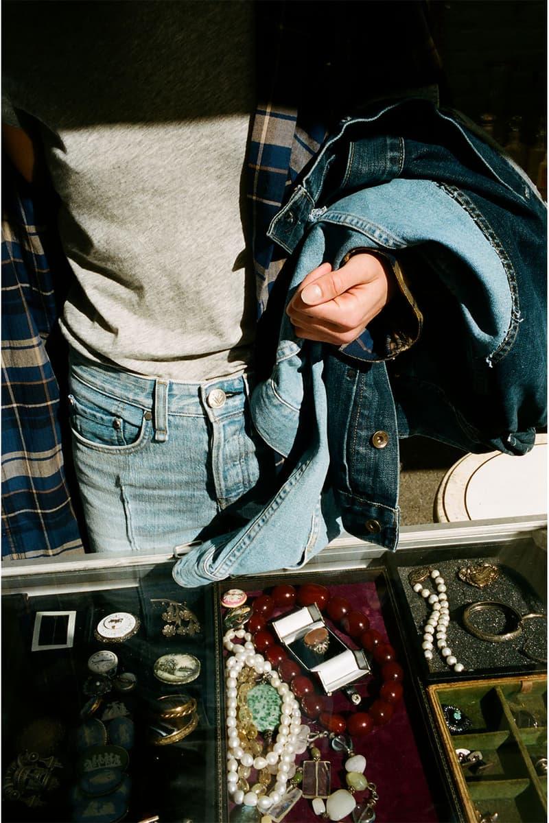 ラグ & ボーンが東京発のボナムとの限定コレクションを展開 rag & bone が東京発のリメイクブランド BONUM と限定コレクションを展開