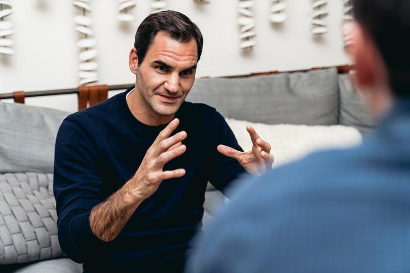 roger federer ロジャー・フェデラー on sneaker フットウェア deal investment swiss オン スイス signature shoes interview release date info photos price